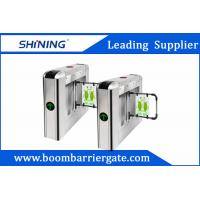 Quality 30 Persons / Min Steel Swing Barrier Gate , Smart Subway Turnstile Gate for sale