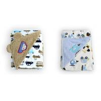 Quality Thickening Double side printed soft polar fleece baby knitted blanket ,Multi for sale