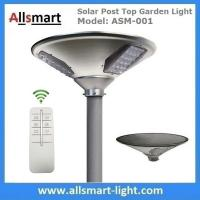 China New 15W 1500lm UFO Solar Garden Lights All In One Parking Lot Lamp Solar Energy Products With 30W Solar Panel Aluminum wholesale