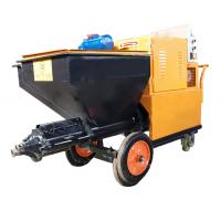 China 120L Capacity Wall Plastering Machine Mortar Spray Plaster Machine For Building wholesale