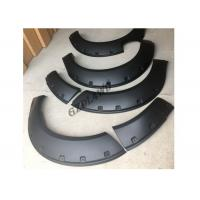 China Navara NP300 Pickup Fender Flares Wheel Arch , PP Material Fender Trims on sale