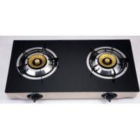 China Electric Ignition Table Top Gas Stove With Tempered Glass Panel wholesale