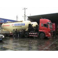China Warning System Bulk Cement Truck 12 Tires With Reflecting Mark Safety wholesale