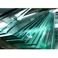 China Clear Thick Float Glass , Toughened Float Glass With Good Optical Degree wholesale