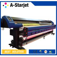 China CMYK 3.2m Epson Dx7 Printer Inkjet Wide Format Solvent Printer wholesale