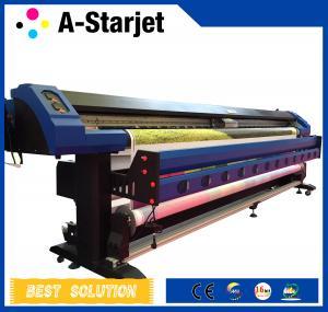 China CMYK 3.2m Epson Dx7 Printer Inkjet Wide Format Solvent Printer wholesale