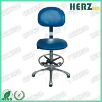 China Blue Color ESD Safe Chairs Adjustable Height 660-860mm Arm Rest Available on sale