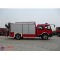 ISUZU Chassis Rescue Fire Truck Max Speed 95KM/H Traction Rope Length 28M