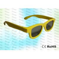 China Master Image and Adult RealD, ABS Plastic framed Circular polarized 3D glasses wholesale