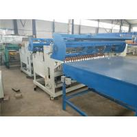 China Fully Automatic Welded Wire Mesh Machine , Black Wire Steel Wire Mesh Machine wholesale
