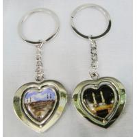 China true love metal keychain wholesale