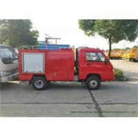 FORLAND 4x2 Chassis Mini Fire Fighting Truck , Forest Fire Engine Vehicle