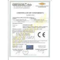 Qingdao Saintyol DAWIN Machinry Co.,Ltd Certifications
