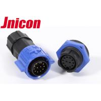 China 12 Pin Waterproof Data Connector IP67 / IP68 M19 Screw Locking Connecting wholesale