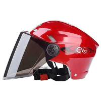 China Retro Motorcycle Helmet Fashion Open Half Face Helmet Electric Motorcycle Keep Warm Safe Helmet With CE Certificate wholesale