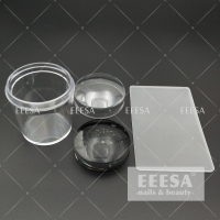 Buy cheap 3.5Cm Clear Transparent Nail Art 3D Stamper With Plates from wholesalers