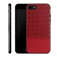 China Retro Leather Braided Cell Phone Cases 30g Easy Operation For Iphone 8 on sale