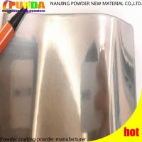 Buy cheap High Reliability Protective Powder Coating Chrome Mirror Effect Transparent Top from wholesalers