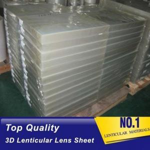 China 120cmx240cm 20 LPI UV large format lenticular sheet thickness 3 mm designed for flip effect on digital printer wholesale