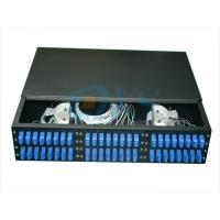 China 19 Inch Rack Mount Fiber Optic Odf , 2U 48 Core Optic Patch Panel Odf Robust Structure wholesale