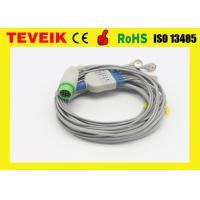 Buy cheap Kontron 7135B 5 Leads ECG Cable For Patient Monitor , Round 12pin / IEC from wholesalers