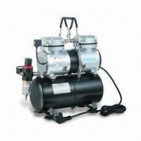 China Auto Stop Airbrush Compressor, Operated by Two Airbrush at Same Time wholesale