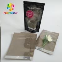 China Clear Window Stand Up Pouch Bags For Food / Candy / Coffee 10000 MOQ wholesale