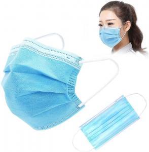 China Disposable Gauze 10PCS FDA Earloop 3 Ply Face Mask wholesale