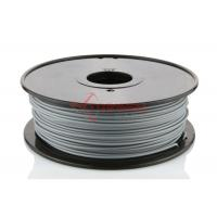China 1.75mm ABS 3D Printer Filament Gray 1KG / Spool , 3D Printer Material wholesale