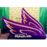 China Customized Decorative Inflatable Wing with Blower for Performance wholesale