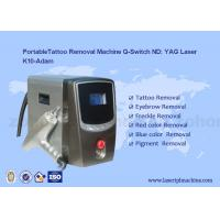 China Portalbe Q-switch Nd Yag Laser Tattoo Removal eyebrow removal Machine For Age Pigment wholesale