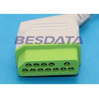 Quality Nihon Kohden JC-906PA Compatible ECG Trunk Cable Adapter For BSM / Life Scope for sale