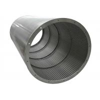 Johnson Stainless Steel Well Screens , Wire Cylinders And Tubes Filter