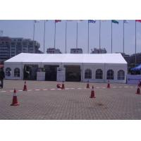 China 12m Span Small Outdoor Event Tent Translucent UV Protection With Window wholesale