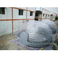 Quality Clear Inflatable Bubble Tent for outdoor event for sale
