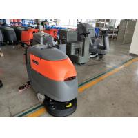 China Small Square Brick Floor Cleaning Machines / Commercial Floor Scrubber wholesale