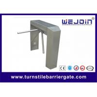 China Indoor / Outdoor Semi - Automatic Turnstile Security Gates With 490mm Arm Length wholesale
