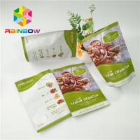 China Matte Finished Aluminum Foil Stand Up Pouch Edible Fruit Jerky Packaging Custom Printing wholesale
