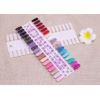 China 36 Tips False Gel Polish Nail Display Board / Art  Nail Manicure Tool For Practice on sale