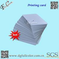 China Custom Office Print PVC ID Card Blank PVC Cards  86 * 54  Inkjet Printable PVC Card With Free Sample wholesale