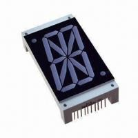 China 7 Segment LED Display with 2.0 Inches Single Digit for Alphanumeric Display wholesale