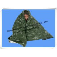 China First Aid Kits Rescue Emergency Survival Blanket Military Army Green For Soldier wholesale