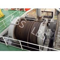 China 10 Ton 20 Ton 50T Ship Traction Marine Winch With Spooling Device wholesale