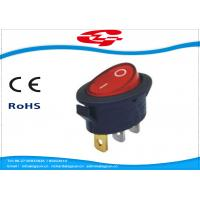 China On Off 3 pin Electrical Rocker Switches With Red Light For Coffee Pot  KCD1-311 wholesale