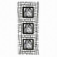 China Metal Photo Frame in Various Colors and Sizes, with Powder Spray Finish wholesale