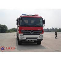 China 6x4 Drive Fire Fighting Truck Rotatable Type Cab With 16 Forward Gear on sale