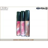 China Pretty Girl Moisturizing Cosmetics Lip Gloss in Painting Bottle for Lip makeup wholesale