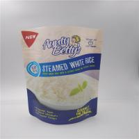 China Stand up reusable microwavable Mylar Printed Plastic Bags For Food Packaging With Custom Logo wholesale