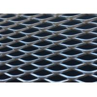 China Stretched Expanded Metal Mesh Diamand Hole Shape For Architectural Decoration wholesale
