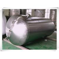 China Customized Color Horizontal Air Receiver Tanks Carbon Steel / Stainless Steel wholesale
